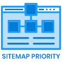 Google Sitemap-Priorität auswählen icon