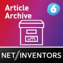 Artikel automatisch archivieren und verschieben - ArticleArchiv icon