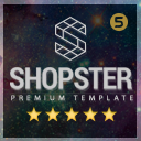Shopster | Premium Theme Responsive Template