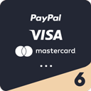 Payment-Icons / Pyment Methods for Header, Footer & Checkout