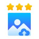 Produktbewertung mit realem Bild-Upload icon