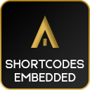 Shortcodes Embedded (Youtube/Facebook/Twitter etc.)