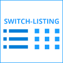 Switch Product Listing View icon