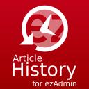ezAdmin - Artikel Historie