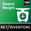 Anzeige des Gesamtgewichts der Bestellung - BasketWeight icon