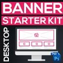 Banner Starter Kit | Desktop Bannervorlagen für Einkaufswelten