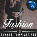 Fashion // Banner Template Set // Einkaufswelt & Teaser