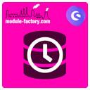 Akzeptierter Datenschutz Zeitstempel icon