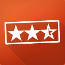 Bewertungsdurchschnitt in Kategorien icon