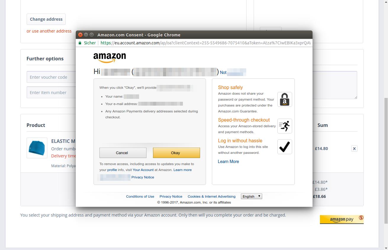 Amazon konto deaktiviert mail