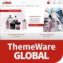 ThemeWare® Global | sales increasing and customizable icon