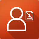 Downloads unangemeldet ausblenden icon