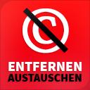Copyright entfernen oder austauschen icon