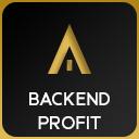 Profit im Backend icon
