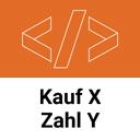 Kauf X Zahl Y - Angebot für Rabatt Aktionen icon