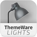 ThemeWare Lights | Customizable Responsive Theme icon