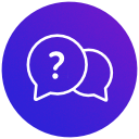 FAQ-Bereich für die Erlebniswelten icon