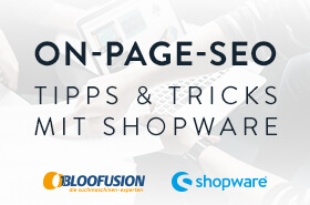 Exklusive SEO Schulung mit Shopware und Bloofusion