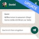 WhatsApp Live Chat & Teilen/Share-Funktion Dektop & Mobile icon