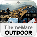 ThemeWare® Outdoor | sales increasing and customizable icon
