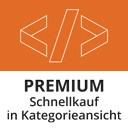 Premium Schnellkauf in Kategorieansicht & Einkaufswelten
