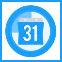 Produktverkauf Countdown Farbband icon