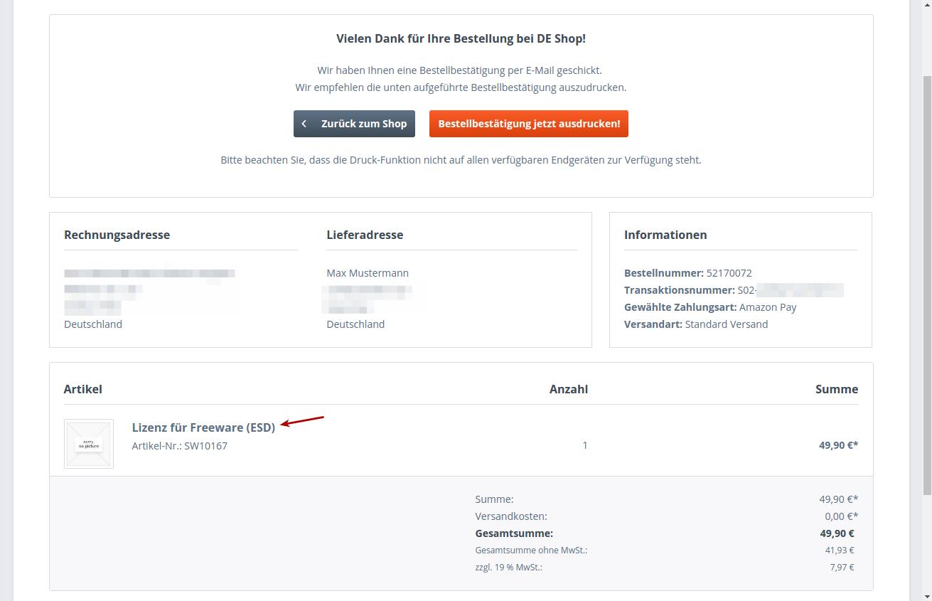 Amazon Pay Alexa Ready Bestellprozess Checkout Erweiterungen
