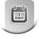 Order numbers by date icon