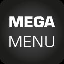 Flexible Mega Menu - optimierte Navigation als Mega Menü icon