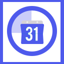 Product Sales Countdown Ribbon icon