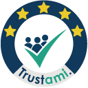 Badge for Shop Reviews + Google Stars | Trustami icon