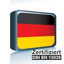 Sprachpaket Deutsch Du - ISO 17100 zertifiziert icon