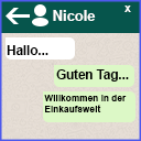 WhatsApp Live Chat mit Kunden