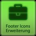 Erweiterung der Footer-Icons