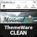ThemeWare® Clean | umsatzsteigernd und anpassbar icon