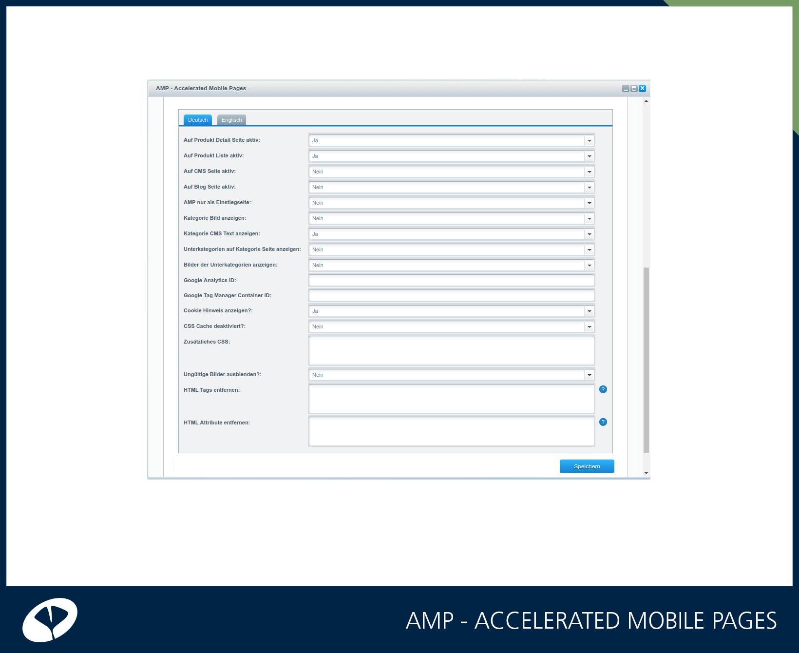 Amp Accelerated Mobile Pages Mobil Erweiterungen Shopware