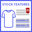 Show Article Stock Features I Badges icon