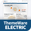 ThemeWare® Electric | sales increasing and customizable icon