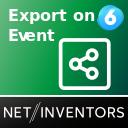 Daten eventabhängig per E-Mail und FTP exportieren - ExportOnEvent icon