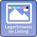 Lagerhinweis im Listing mit Rabatt-Detail