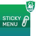 Sticky Menu (fixed Navigation) icon