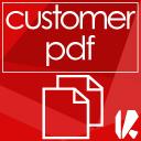PDF Rechnung als Download im Kundenkonto icon