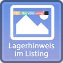 Lagerhinweis im Listing mit Rabatt-Detail icon